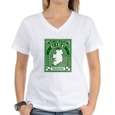 Eire Slainte Irish Clover Shirt