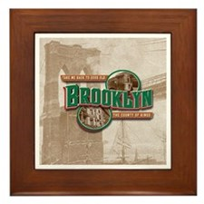 Classic Brooklyn Framed Tile