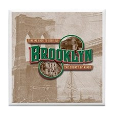 Classic Brooklyn Tile Coaster