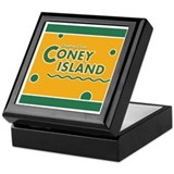 Vintage Style Coney Island Keepsake Box