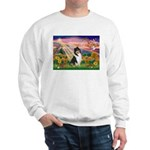 Autumn Angel/Collie Sweatshirt