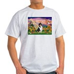 Autumn Angel/Collie Light T-Shirt