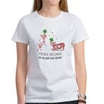 Frenchie Good Luck (PINK) Women's T-Shirt