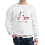 Frenchie Good Luck (PINK) Sweatshirt