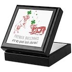 Frenchie Good Luck (PINK) Keepsake Box