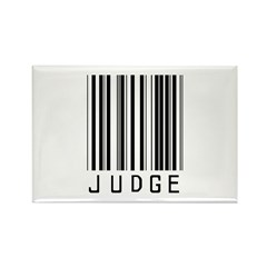 Judge Barcode Rectangle Magnet (10 pack)