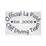 La Push Cliff Diving Team Rectangle Magnet (100 pa