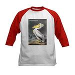Audubon American White Pelican (Front) Kids Baseba