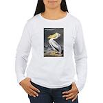 Audubon American White Pelican (Front) Women's Lon