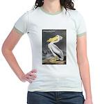 Audubon American White Pelican Jr. Ringer T-Shirt