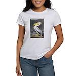 Audubon American White Pelican (Front) Women's T-S