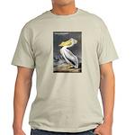 Audubon American White Pelican (Front) Light T-Shi