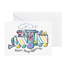 Easter Bunny Eggspress Greeting Cards (Pk of 10)