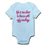 """Ugly Cowboys"" Infant Bodysuit"