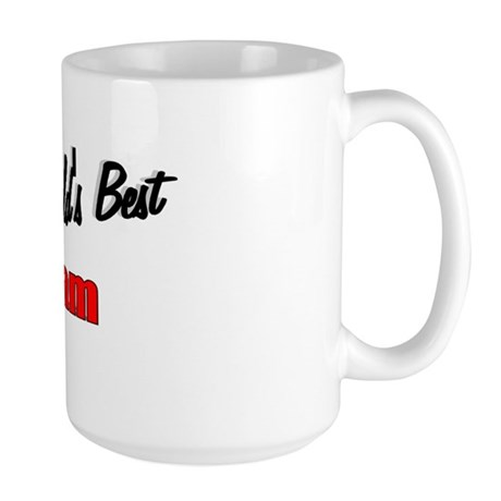 """The World's Best Mam"" Large Mug"