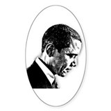 Barack Obama Oval Decal