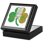 The Masons Irish Clover Keepsake Box
