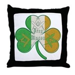 The Masons Irish Clover Throw Pillow