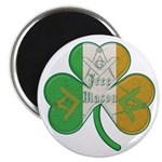 The Masons Irish Clover Magnet