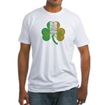 The Masons Irish Clover Fitted T-Shirt