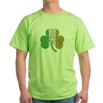 The Masons Irish Clover Green T-Shirt
