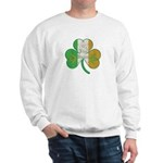 The Masons Irish Clover Sweatshirt
