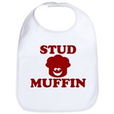 STUD MUFFIN BABY BOY SHIRT ON Bib