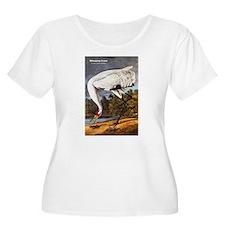 Audubon Whooping Crane Bird (Front) T-Shirt
