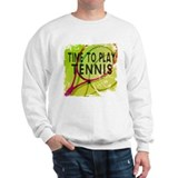Time to Play Tennis Jumper