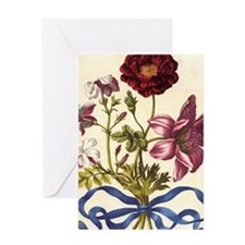 French Rose by Merian Greeting Card