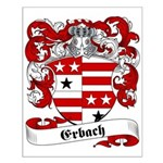 Erbach Family Crest Small Poster