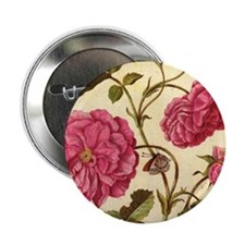 "Dutch Rose by Merian 2.25"" Button (100 pack)"