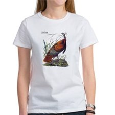 Audubon Wild Turkey Bird (Front) Tee