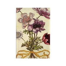 Anemones by Merian Rectangle Magnet (10 pack)