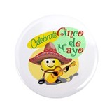 "Celebrate Cinco de Mayo 3.5"" Button"