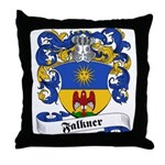Falkner Family Crest Throw Pillow