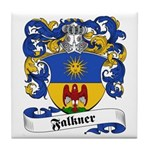 Falkner Family Crest Tile Coaster