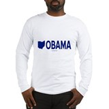 Ohio for Obama Long Sleeve T-Shirt