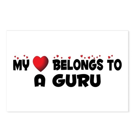 Belongs To A Guru Postcards (Package of 8)