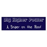 Higher Power Bumper Sticker