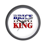 BRICE for king Wall Clock