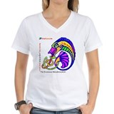 StoryRhyme Jabberwocky Woman's Vee Tee