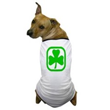 clover circle Dog T-Shirt