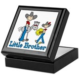 Stick Cowboys Little Brother Keepsake Box