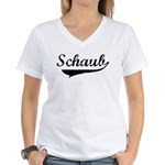 Schaub (vintage) Women's V-Neck T-Shirt