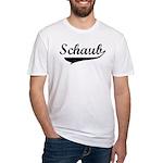 Schaub (vintage) Fitted T-Shirt