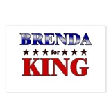 BRENDA for king Postcards (Package of 8)