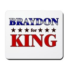 BRAYDON for king Mousepad