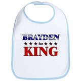 BRAYDEN for king Bib
