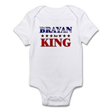 BRAYAN for king Infant Bodysuit
